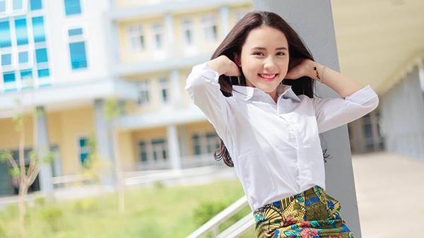 Nhan sắc của Minh Nhàn - 'ứng cử viên sáng giá' cuộc thi Miss Teen 2017