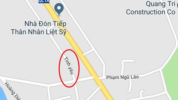 """Ai đặt tên """"Đường Tình yêu"""" ở Đông Hà, Quảng Trị?"""