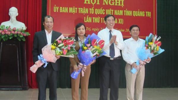 Bị xử lý kỷ luật vẫn làm Phó Chủ tịch UBMTTQ Việt Nam tỉnh Quảng Trị