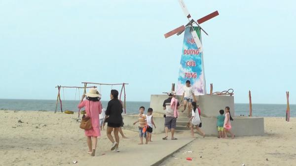 Bãi biển Cát Sơn tín hiệu vui mùa du lịch mới