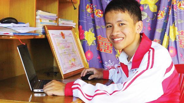 Cậu học trò nghèo Quảng Trị và tấm huy chương danh giá