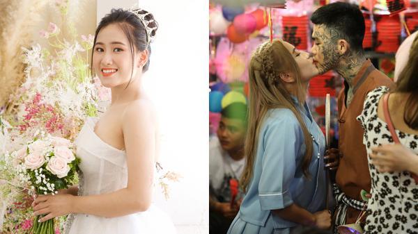 Cô gái xinh đẹp yêu chàng thợ xăm kín mặt quê Quảng Trị: 'Gặp anh là may mắn đời em'