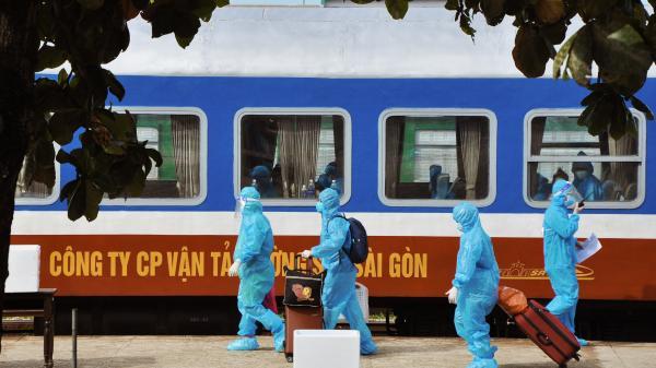 4 người dân Quảng Trị vừa trở về quê bằng tàu hỏa dương tính với SARS-CoV-2