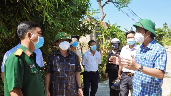 """Phó Chủ tịch UBND tỉnh Hoàng Nam: """"Việc dựa vào dân để phòng, chống COVID-19 là hết sức cần thiết"""""""