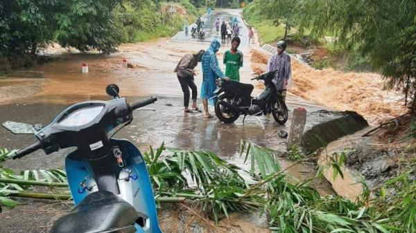Hướng Hóa: Nhiều diện tích lúa vụ hè thu, hoa màu có nguy cơ thiệt hại do bão lụt