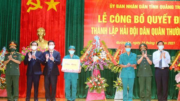 Thành lập Hải đội Dân quân thường trực tỉnh Quảng Trị