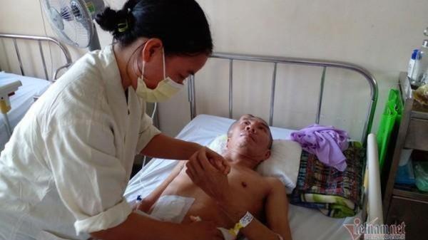 Quảng Trị: Chồng tai nạn lâm cảnh thực vật, vợ con khóc cạn nước mắt