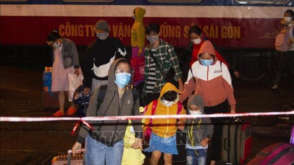 Quảng Trị: Đón thêm 448 người dân về từ các tỉnh, thành phía Nam