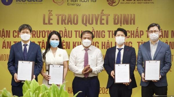 """Quảng Trị trao quyết định chủ trương đầu tư dự án """"Trung tâm điện khí LNG Hải Lăng"""" trị giá 2,3 tỷ USD"""