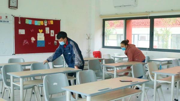 Áp dụng dạy học trực tiếp đối với một số khối lớp ở thành phố Đông Hà từ ngày 21/10/2021