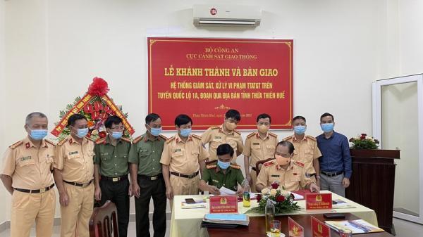 Cảnh sát giao thông lắp 80 'mắt thần' dọc quốc lộ 1 đoạn Quảng Trị - Đà Nẵng