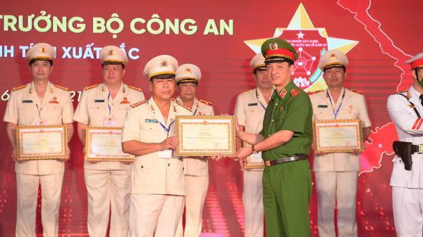 Công an Quảng Trị được Bộ trưởng Bộ Công an tặng bằng khen quá trình thực hiện 2 dự án trọng điểm