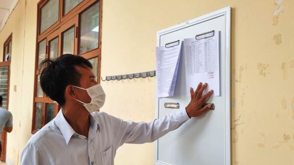 Điểm thi Trường THPT Đakrông: 2 thí sinh trên 30 tuổi dự thi