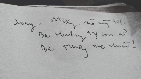 """Dòng chữ cuối cùng của người cha """"điên"""" và câu chuyện đằng sau khiến tất cả bật khóc"""